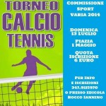 Torneo calcio tennis