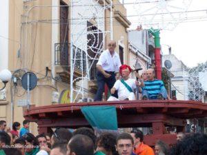 """La """"calata du cippu"""" del 2008 con Ciccio Fonte e Mario Bagalà"""